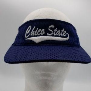 Unisex Chico State Wild Cats Blue Visor hat